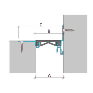 Дилатационное устройство Аквастоп ДГК-2-УГЛ/025