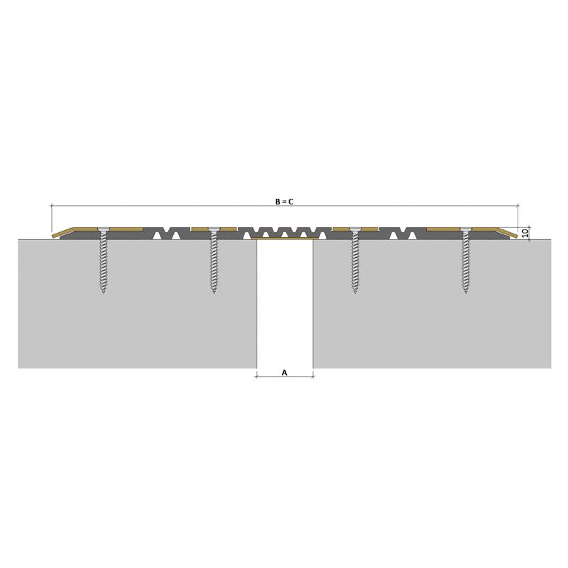 Дилатационное устройство Аквастоп ДПП-0/050 ПП1-400/050 П-60-СО