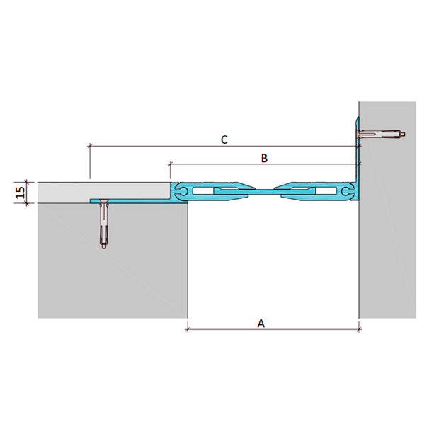 Дилатационное устройство Аквастоп ДША-15-УГЛ/038