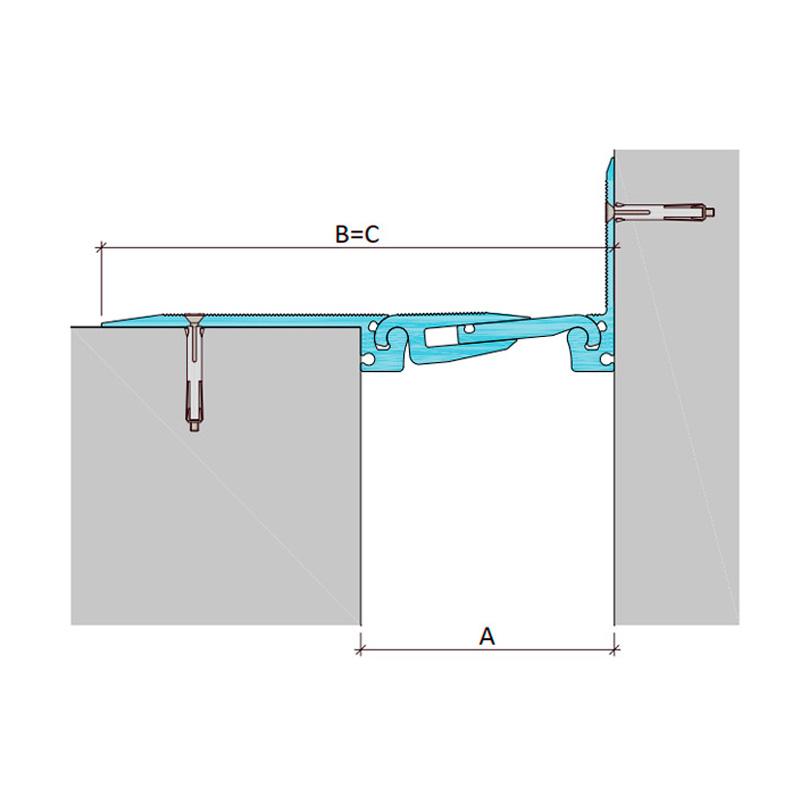 Дилатационное устройство Аквастоп ДША.ТC-0-УГЛ/255