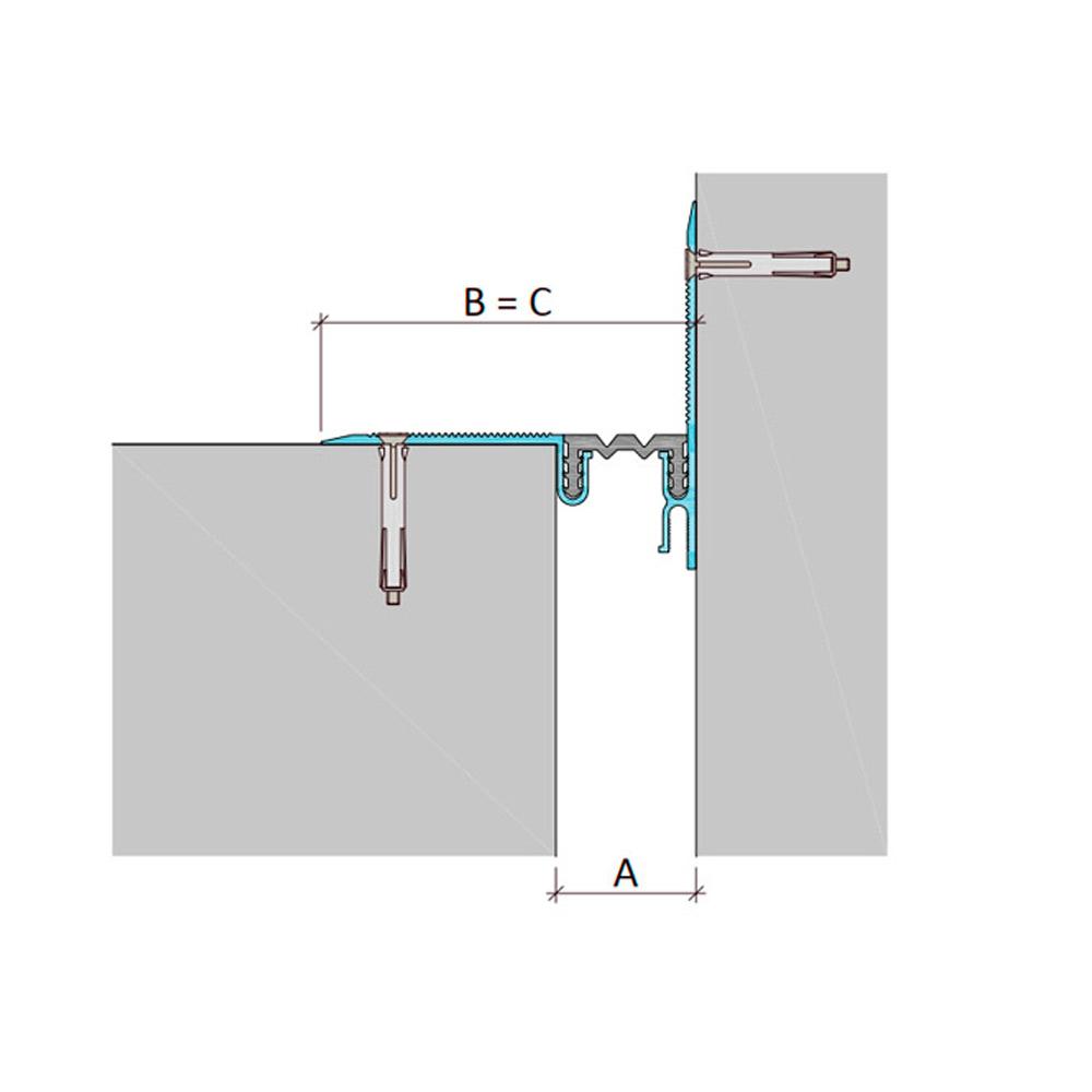 Дилатационное устройство Аквастоп ДШЛ-0-УГЛ/020