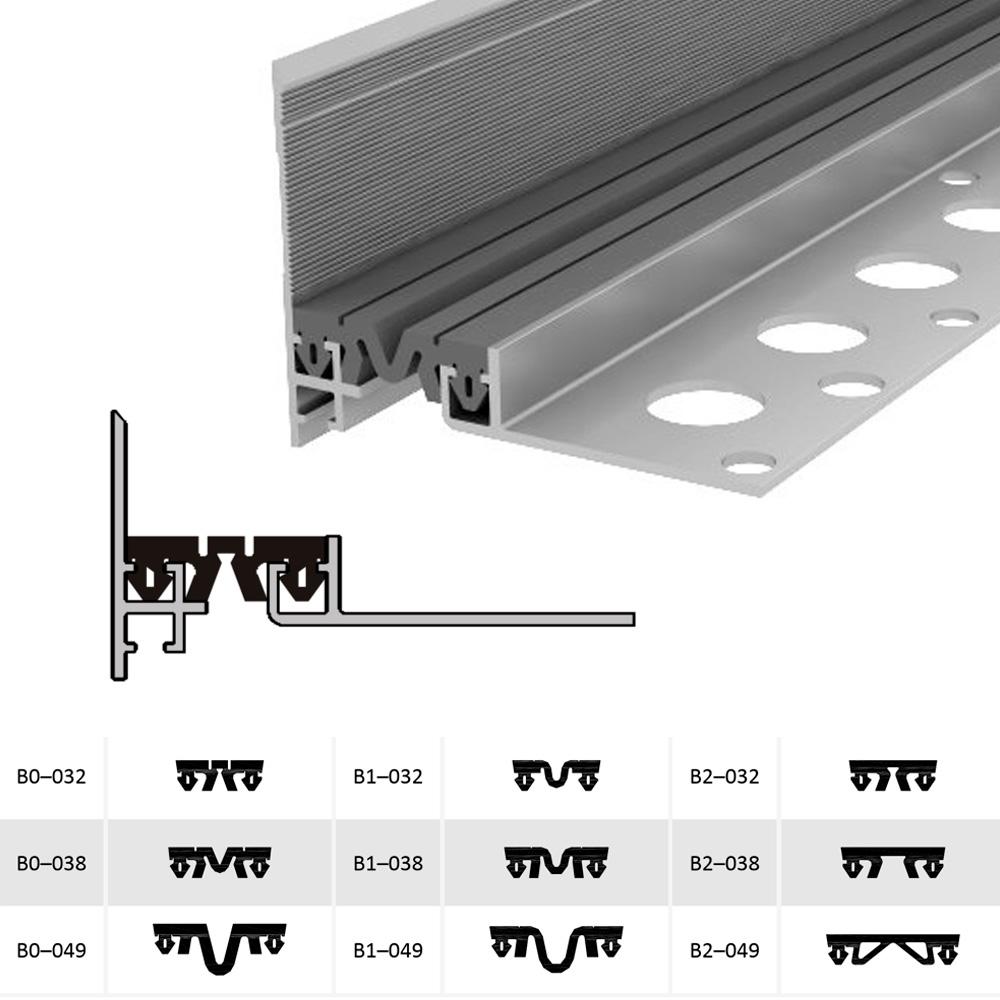 Дилатационное устройство Аквастоп ДШМ-15-УГЛ/040 В1-049