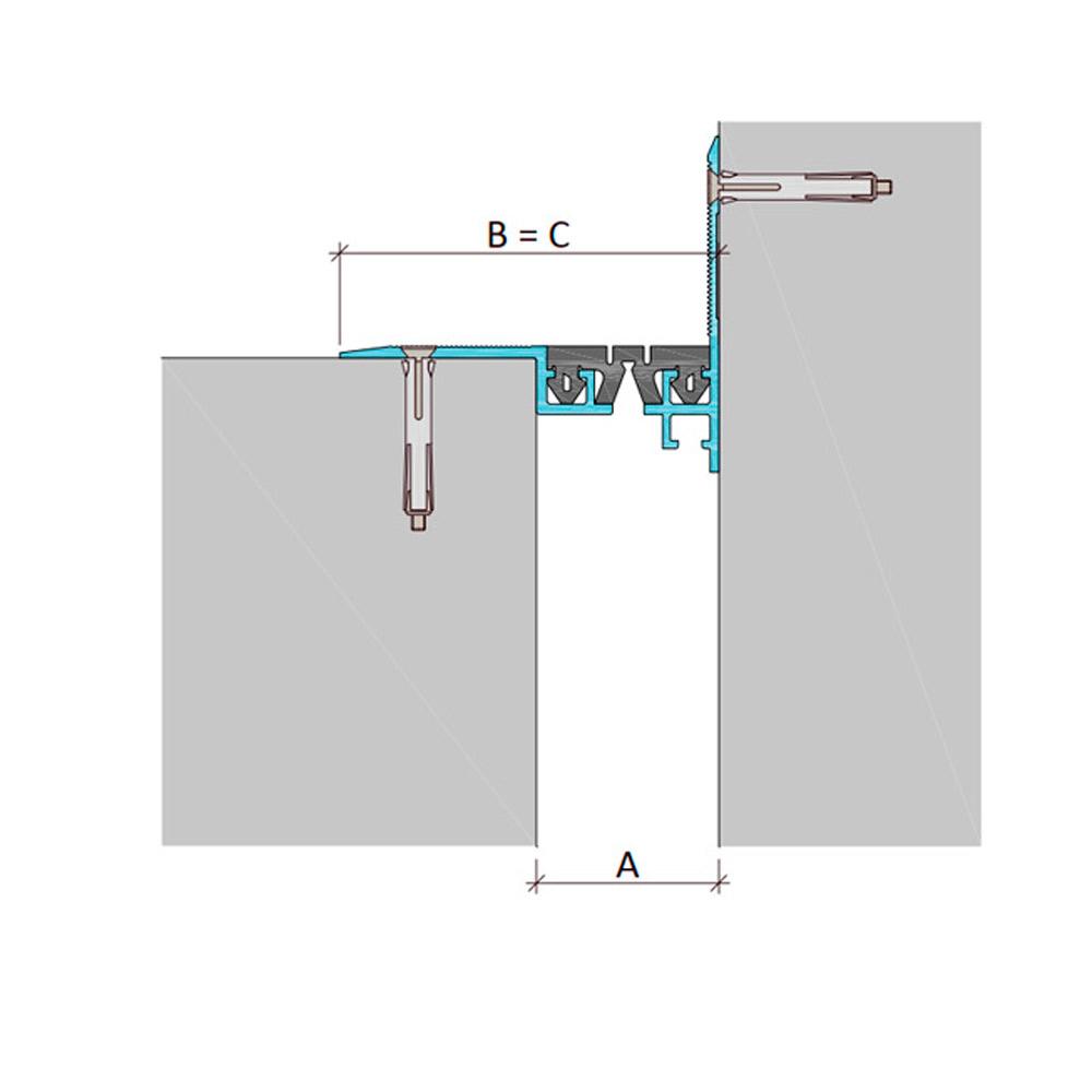 Дилатационное устройство Аквастоп ДШВ-0-УГЛ/070 В0-068