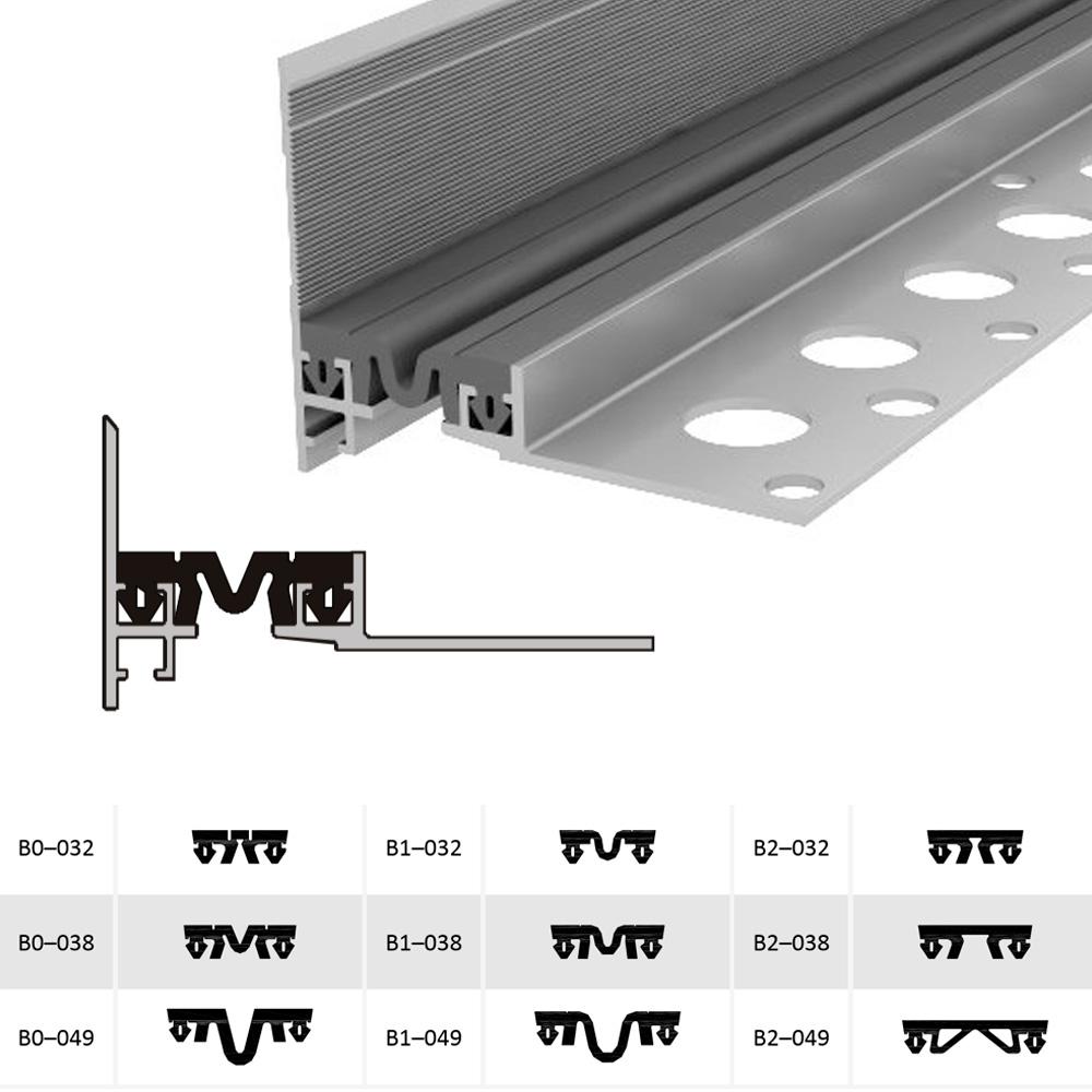 Дилатационное устройство Аквастоп ДШВ-15-УГЛ/035 В0-038