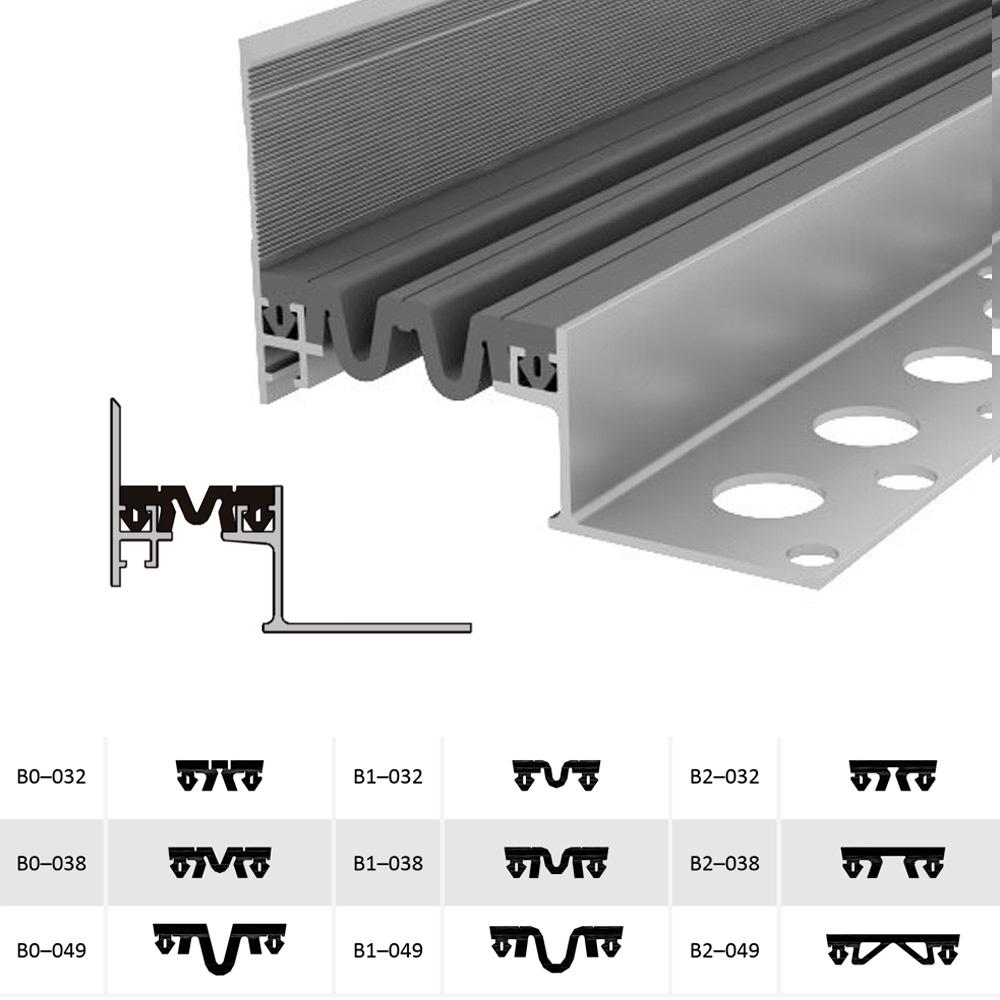 Дилатационное устройство Аквастоп ДШВ-35-УГЛ/035 В1-038