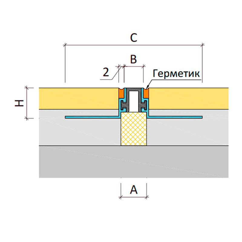 Дилатационное устройство Аквастоп ТПМ-14/012
