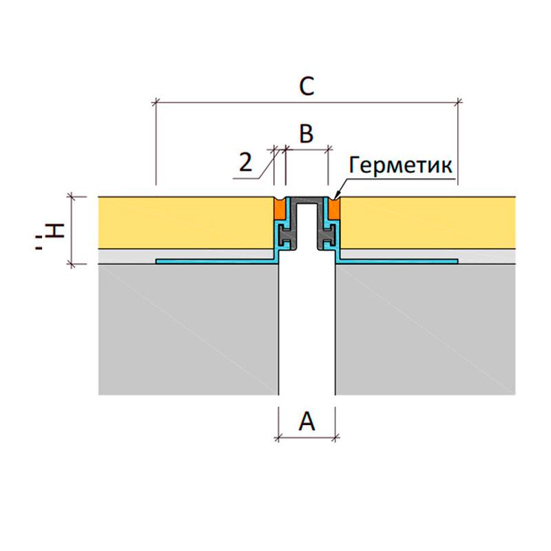 Дилатационное устройство Аквастоп ТПМ-11/007